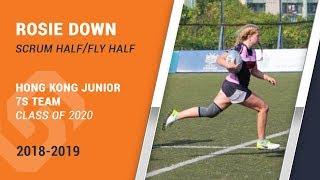 Sportsync Athlete Rosie Down   Rugby Highlights 2019