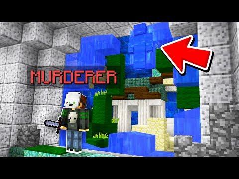 FAKE WATER CAMO TROLL! (Minecraft Murder Mystery Camo Trolling)