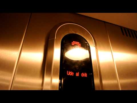 I almost got stuck in the elevator! (STOP button test)