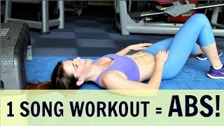 One of Carly Rowena's most viewed videos: LOSE BELLY FAT - 3 MINUTE WORKOUT!