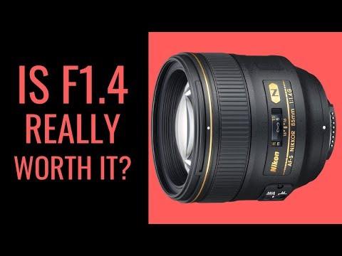 Nikon 85mm f1.8G vs Nikon 85mm f1.4G - Is f1.4 WORTH the EXTRA Cost?
