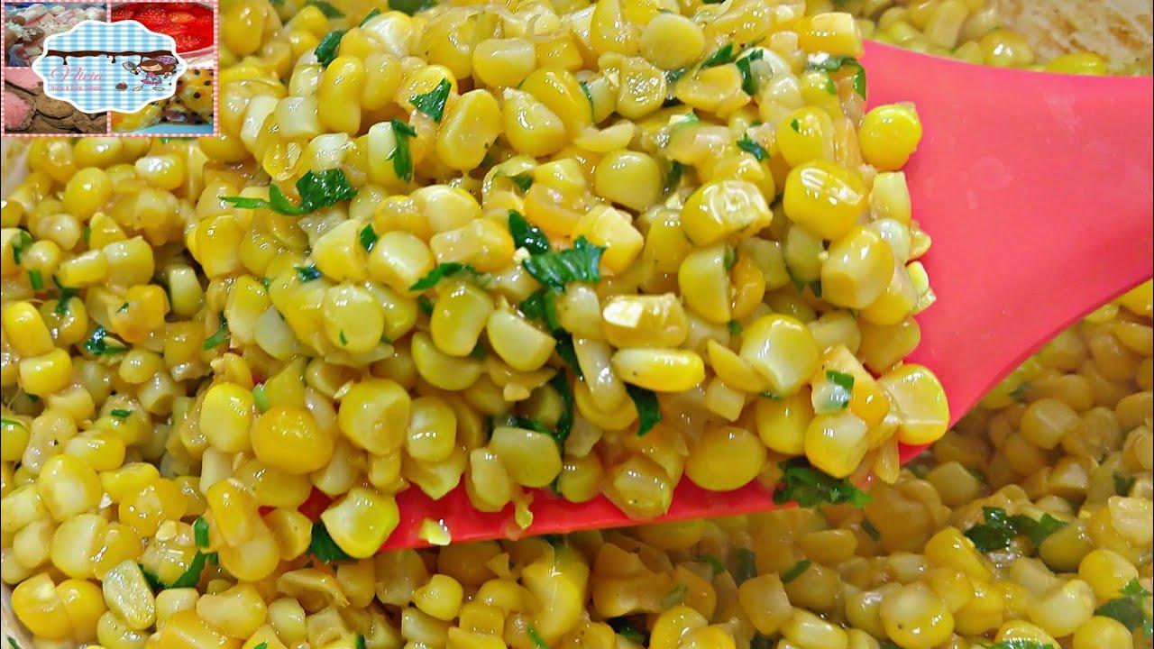 Como fazer milho refogado