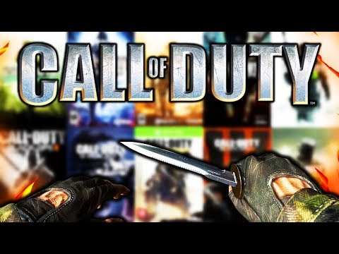 EVERY BASE MELEE/KNIFE in CALL OF DUTY! (COD4 - COD WW2) thumbnail