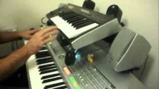 Dj Tiesto Adagio for Strings keyboard Tyros 2