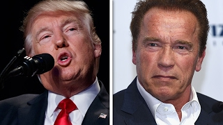 Trump Taunts Schwarzenegger At National Prayer Breakfast