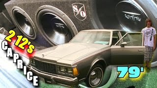 79' Caprice Trunk Setup w/ 2 12