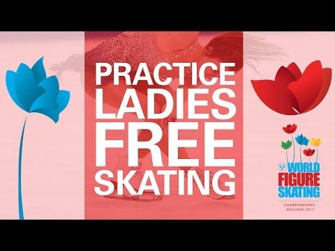 Ladies Free Skating Practice - Helsinki