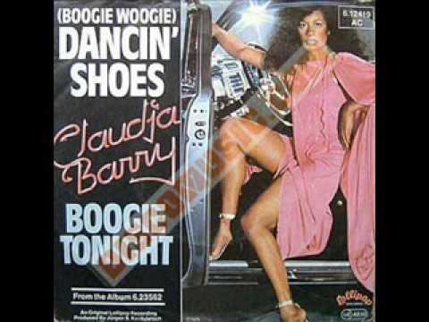 CLAUDIA  BARRY '' BOOGIE WOOGIE DANCING SHOES''