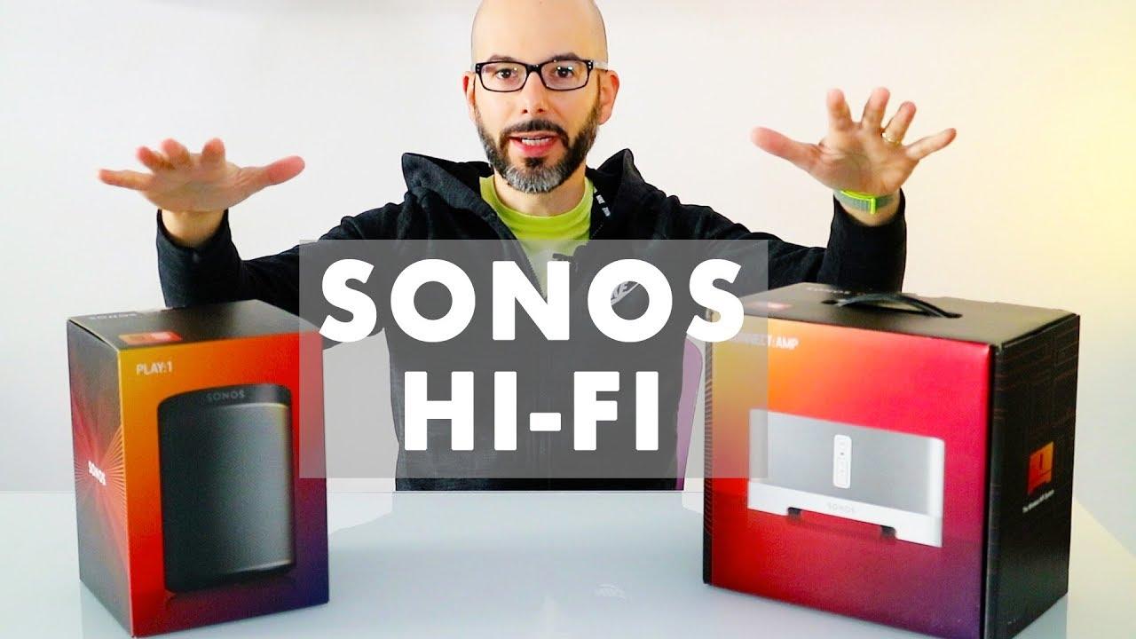 Agganciare giradischi a Sonos