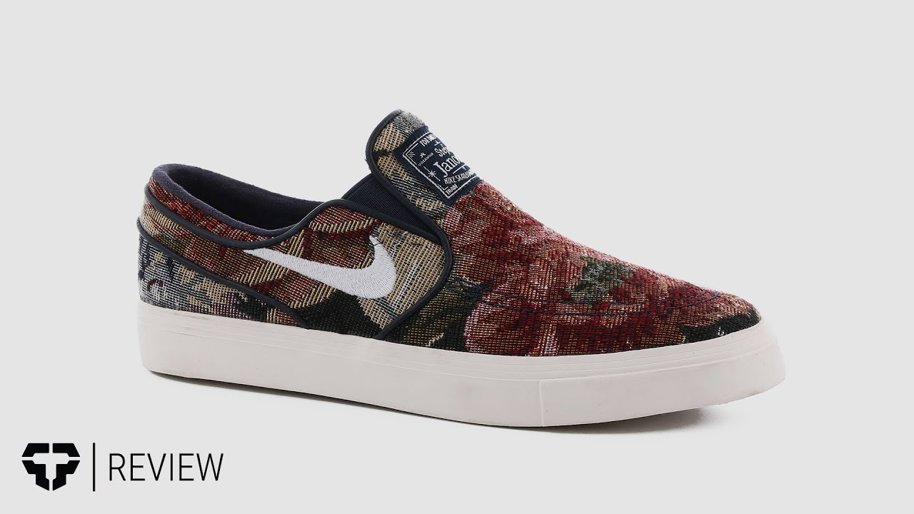 Nike SB Zoom Stefan Janoski Slip Premium Skate Shoes Review - Tactics.com