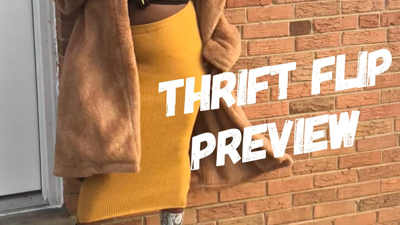 [VIDEO] – Thrift Flip Preview | Revamping Your Thrifted Items