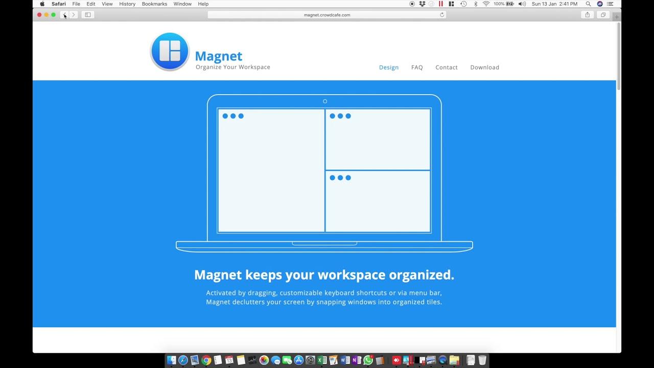 Best Window Management App for Mac OS (2019) - Magnet