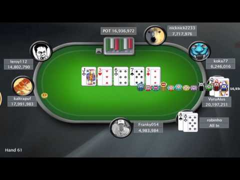 Sunday Million - 25 March 2012 . Online Poker Show - FINAL TABLE.