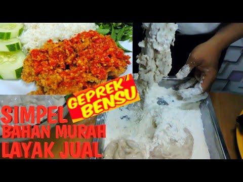 Resep Ayam Geprek Bahan Murah Jual 10k Masih Untung Banyak Youtube