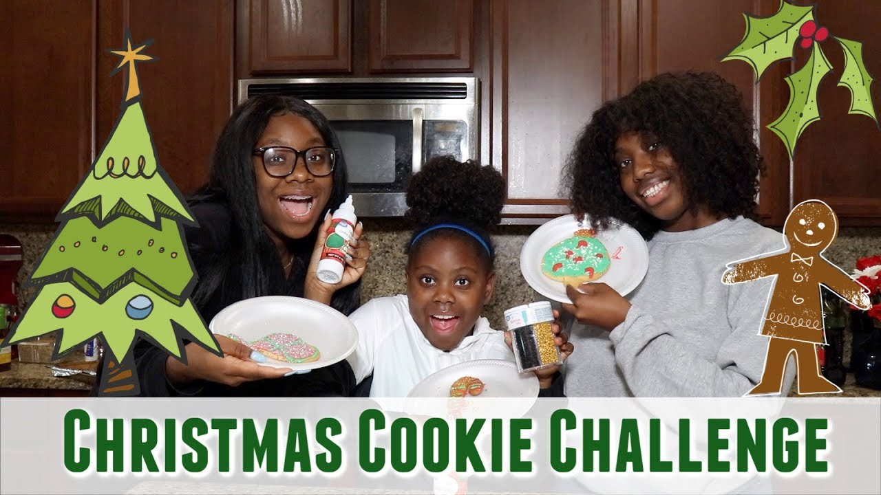 Christmas Cookie Challenge.Christmas Cookie Challenge Family Matters