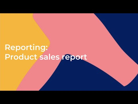 how-to-use-the-product-sales-report