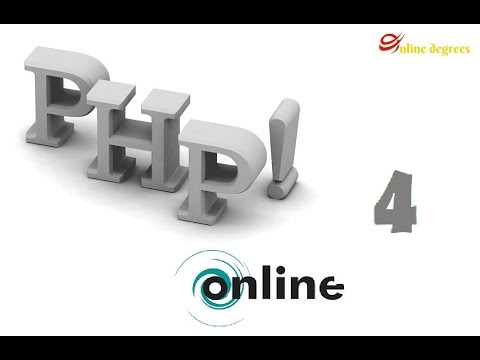 Online Degrees: PHP Online 4 ~ First PHP Application, Hello World   Echo Statements and Strings