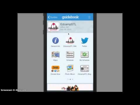 How to Use the Guidebook App