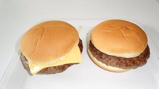 Den besten Hamburger und Cheeseburger selber machen