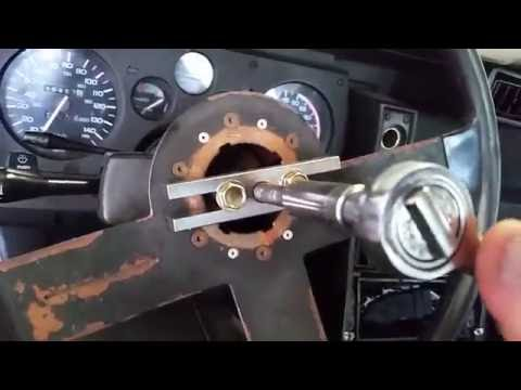 How to install a camaro steering wheel without a hub