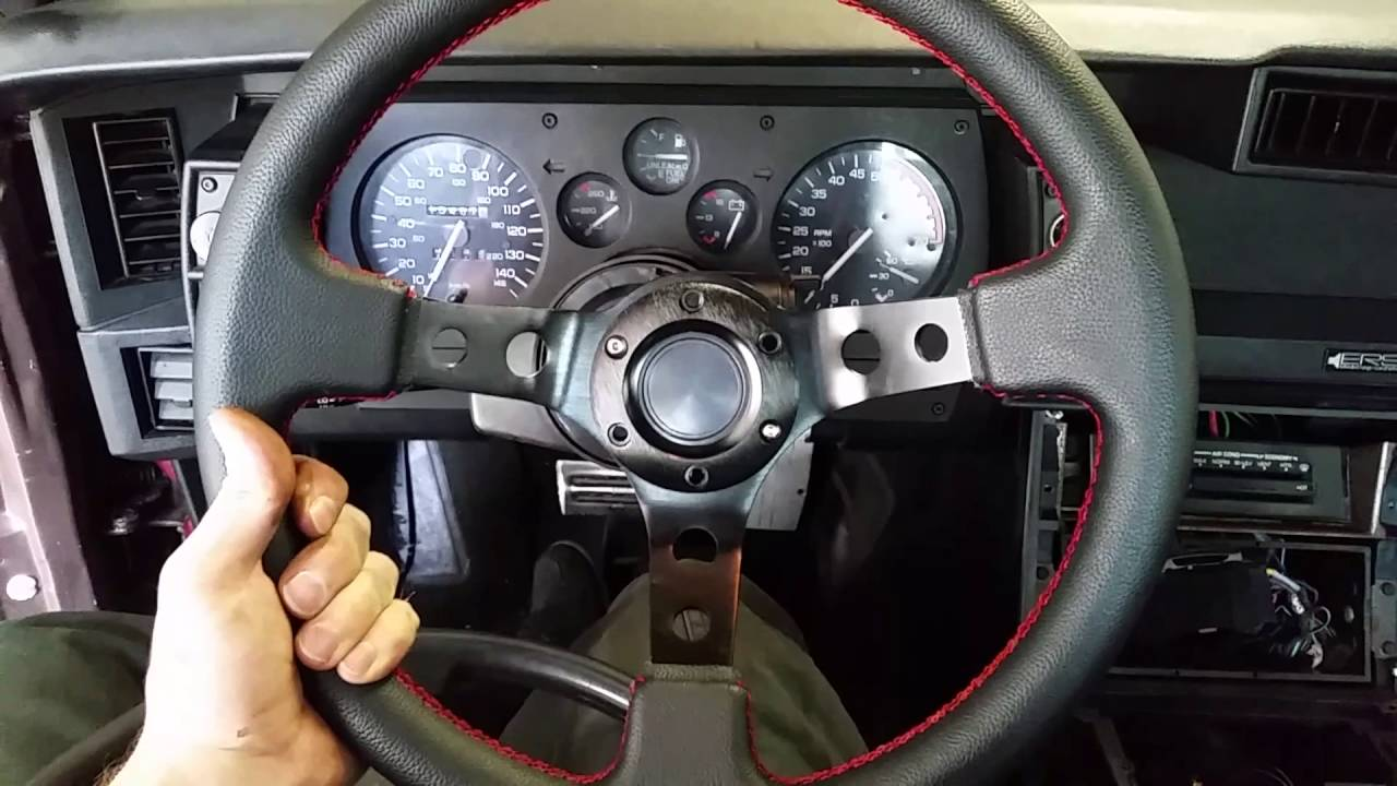 How To Install A Camaro Steering Wheel Without A Hub Youtube