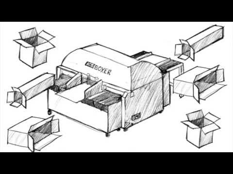 How To Use The BCS Boxer | Corrugated Box Making Machinery