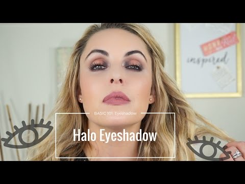 How to do create a HALO eye for beginners|| Basic 101 - Elle Leary Artistry
