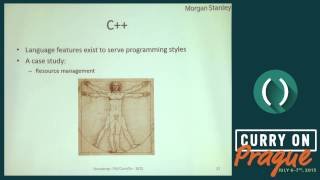 Bjarne Stroustrup - What – if anything – have we learned from C++? - Curry On/PLE