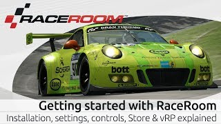 Getting started with RaceRoom: Installation, settings, controls, Store & vRP explained