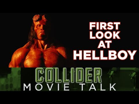 First Look At David Harbour As Hellboy - Movie Talk
