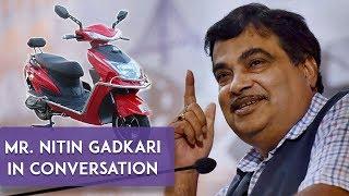 Chat with Mr Nitin Gadkari | Electric Vehicles & Alternative Fuels