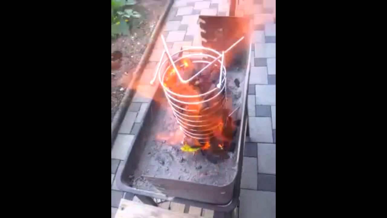 Kohle Kamin Selber Gemacht. Glut Ofen   YouTube