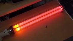 Light Sources Low Pressure Sodium Vapor Lamps Youtube