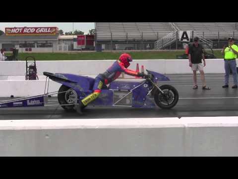 188 Mph 7 16 Seconds Lawless Occ Electric Drag Bike Larry Spiderman Mcbride