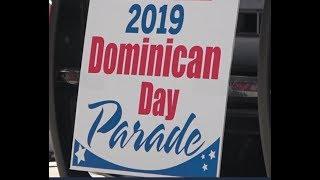 Парад Доминиканской республики. Dominican Day Parade. New York. Manhatten.