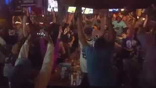 Carolina Panthers Fans in DC React to Touchdown