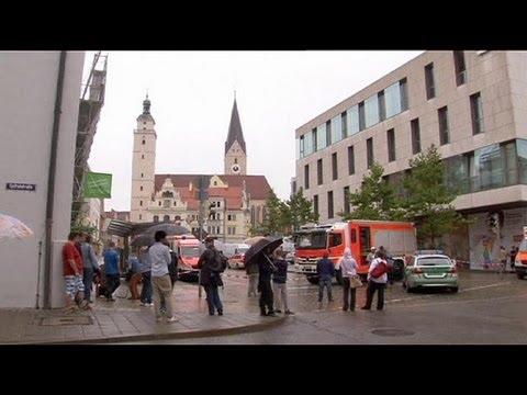Prise d'otages dans une ville de Bavière où Angela Merkel devait tenir un meeting