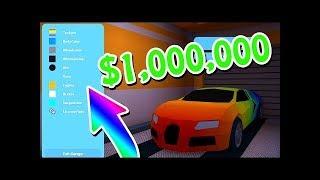 Купил Bugatti за 500.000 cash я богачь в Jailbreak ROBLOX