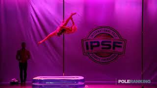 Erika Gonzalez del Pliego Revilla - IPSF World Pole Championships 2018