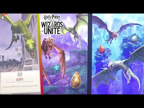 DRAGONS ARE COMING TO WIZARDS UNITE! + Wizards Unite Fan Fest DETAILS!!