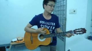 Hoa Cài Mái Tóc - Guitar