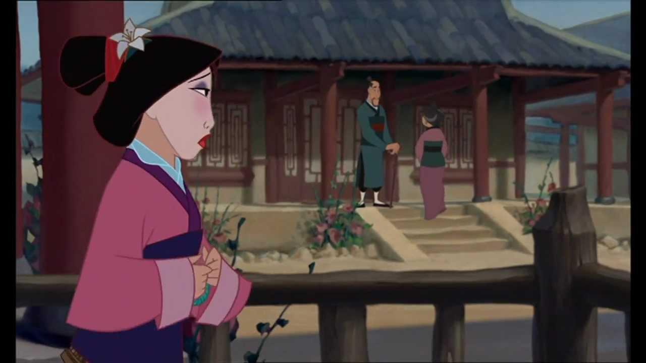 Mulan Reflection Finnish Hd 1080p Youtube