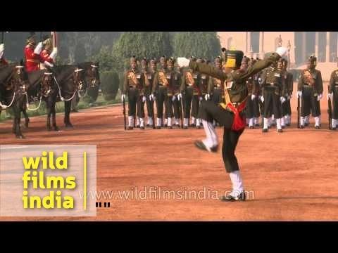 Madras Regiment on President of India