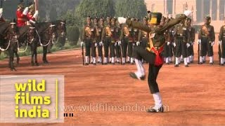 Madras Regiment on President of India's duty, at Rashtrapati Bhavan