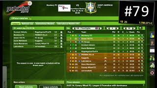 Goal United Football Management GAME #79 - The Amazing B Team