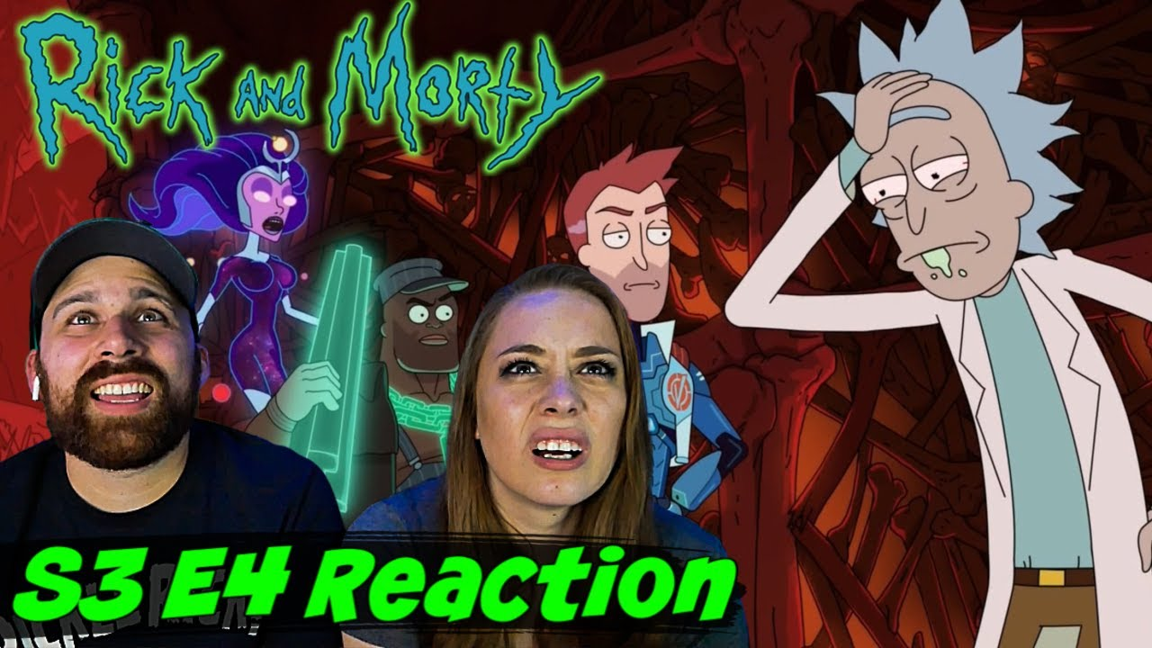 "Rick and Morty S3 E4 ""Vindicators 3: The Return of Worldender"" REACTION - REACTIONS ON THE ROCKS!"