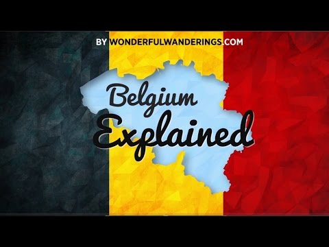 Belgium Explained: language and political structure