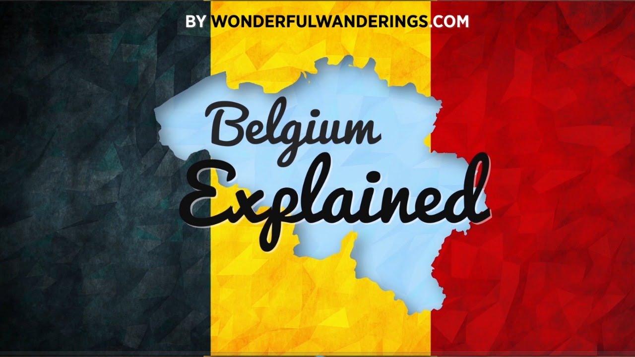 Belgium Explained Language And Political Structure