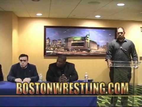 February 2011 MWF Superstar Zone:  Boston Garden Shelton Benjamin / Slyck Wagner Brown