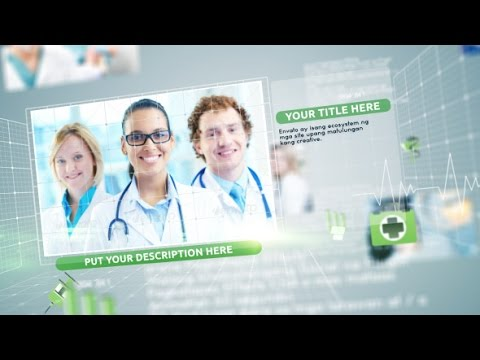 medical slideshow — after effects project | videohive template, Powerpoint templates